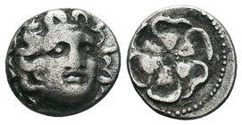 Rhodos, Rhodes AR Drachm. Circa 88 BC - AD 14.  Condition: Very Fine  Weight: 2.25gr Diameter: 15.08mm  From a Private DUTCH Collection.