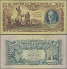 Angola: 5 Angolares 1947, P.77, vertical fold at center and some other minor creases in the paper. Condition: XF.