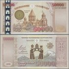 Armenia: 50.000 Dram 2001, P.48 in perfect UNC condition.