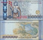 Armenia: 100.000 Dram 2009, P.54 in perfect UNC condition.