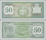 Aruba: 50 Florin 1986, P.4 in UNC condition