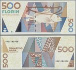 Aruba: 500 Florin 2003, P.20 in perfect UNC condition.