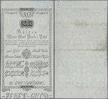 Austria: Wiener Stadt Banko-Zettel 10 Gulden 1800, P.A32, great original shape and strong paper, just a few folds, two tiny tears at left border and m...
