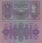Austria: 10 Schilling 1925, P.89 in perfect UNC condition. Highly Rare!