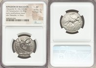 MACEDONIAN KINGDOM. Alexander III the Great (336-323 BC). AR tetradrachm (26mm, 16.96 gm, 7h). NGC XF 5/5 - 3/5. Late lifetime to early posthumous iss...