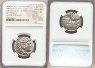 MACEDONIAN KINGDOM. Alexander III the Great (336-323 BC). AR tetradrachm (24mm, 16.80 gm, 9h). NGC XF 4/5 - 3/5. Late lifetime or early posthumous iss...
