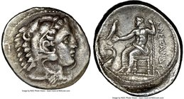MACEDONIAN KINGDOM. Alexander III the Great (336-323 BC). AR tetradrachm (29mm, 2h). NGC VF, smoothing. Lifetime issue of 'Amphipolis', under Antipate...