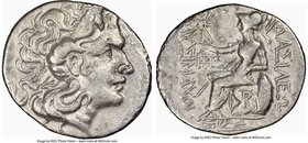 THRACE. Byzantium. Ca. 2nd-1st centuries BC. AR tetradrachm (30mm, 11h). NGC Choice Fine. Name and types of Lysimachus of Thrace. Diademed head of dei...