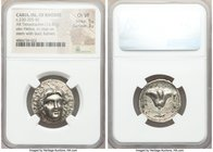 CARIAN ISLANDS. Rhodes. Ca. 230-205 BC. AR tetradrachm (24mm, 13.42 gm, 12h). NGC Choice VF 5/5 - 3/5. Ca. mid-late 220s, Eucrates, magistrate. Radiat...