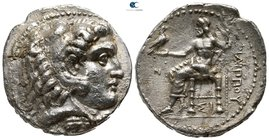 Kings of Macedon. Sidon. Philip III Arrhidaeus 323-317 BC. Tetradrachm AR