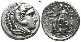 "Kings of Macedon. Amphipolis. Alexander III ""the Great"" 336-323 BC. struck by Antipater under Philip III, circa 323-317. Tetradrachm AR"
