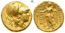 "Kings of Macedon. Arados. Alexander III ""the Great"" 336-323 BC. Struck circa 323 - 320 BC. Stater AV"