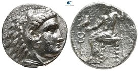 "Kings of Macedon. Pella. Alexander III ""the Great"" 336-323 BC. Struck under Antipater, Polyperchon, or Kassander, circa 325-315 BC.. Tetradrachm AR"