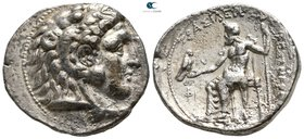 "Kings of Macedon. Uncertain mint, possibly Side. Alexander III ""the Great"" 336-323 BC. Tetradrachm AR"
