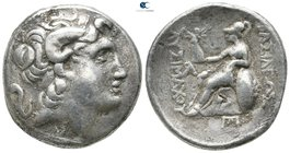 Kings of Thrace. Ephesos (?). Macedonian. Lysimachos 305-281 BC. Tetradrachm AR