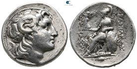 Kings of Thrace. Kios. Macedonian. Lysimachos 305-281 BC. Struck circa 288-281 BC. Tetradrachm AR