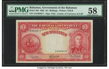 Bahamas Bahamas Government 10 Shillings 1936 (ND 1947) Pick 10d PMG Choice About Unc 58.   HID09801242017