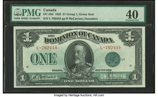 Canada Dominion of Canada $1 2.7.1923 DC-25d PMG Extremely Fine 40.   HID09801242017