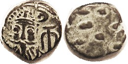 Orodes II, Æ Drachm, GIC-5905, Æ Drachm, Facg bust/ dashes, Choice VF, nice hilighted green-&-brown patina, good clear portrait. (A VF brought $33 on ...