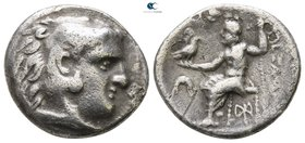 Kings of Macedon. Miletos. Demetrios I Poliorketes 306-283 BC. Drachm AR