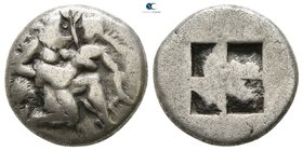 Islands off Thrace. Thasos 510-463 BC. Drachm AR