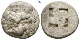 Islands off Thrace. Thasos circa 510-463 BC. Drachm AR