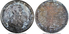 Ferdinand VII silver Potosi Proclamation Medal 1811 MS61 NGC, Fonrobert-9395. 43mm. From the Dresden Collection of Hispanic and Brazilian Proclamation...