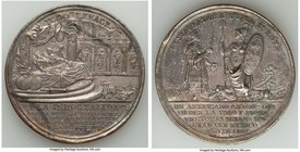 "Ferdinand VII plated-bronze ""Supreme Central Junta"" Proclamation Medal 1808 AU (Cleaned), Grove-F-31a. 52mm. 55.64gm. From the Dresden Collection of H..."