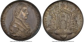 Ferdinand VII silver Veracruz Proclamation Medal 1808 MS64 NGC, Grove-F-197. 33mm. From the Dresden Collection of Hispanic and Brazilian Proclamation ...