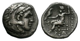 KINGS of MACEDON. Alexander III 'the Great'. 336-323 BC. AR    Condition: Very Fine  Weight: 4.06 gr Diameter: 18 mm