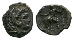 KINGS of MACEDON. Alexander III 'the Great'. 336-323 BC. AR Hemidrachm   Condition: Very Fine  Weight: 2.04 gr Diameter: 14 mm