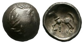 Celts. Imitation of Philip II of Macedon circa 200-0 BC. Drachm  Condition: Very Fine  Weight: 6.63 gr Diameter: 20 mm