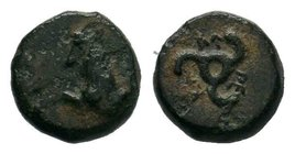 DYNASTS of LYCIA. Perikles. Circa 380-360 BC. Æ    Condition: Very Fine  Weight: 1.15 gr Diameter: 10 mm