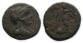 PONTUS, Amisos . Circa 85-65 BC. Æ   Condition: Very Fine  Weight: 6.05 gr Diameter: 20 mm