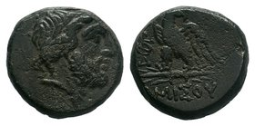 PONTUS, Amisos . Circa 85-65 BC. Æ    Condition: Very Fine  Weight: 8.86 gr Diameter: 19 mm