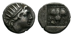 ISLANDS OFF CARIA, Rhodos. Rhodes. Circa 188-170 BC. Drachm    Condition: Very Fine  Weight: 2.39 gr Diameter: 14 mm