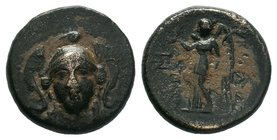 SELEUKID KINGS of SYRIA. Antiochos I Soter, 281-261 BC.   Condition: Very Fine  Weight: 5.75 gr Diameter: 19 mm