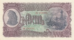 Albania, 1.000 Leke, 1957, UNC, p37