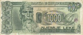 Albania, 1.000 Leke, 1994, VF, p58a