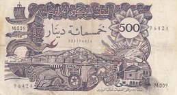 Algeria, 500 Dinars, 1970, VF (+), p129