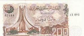 Algeria, 200 Dinars, 1983, UNC, p135