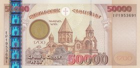 Armenia, 50.000 Dram, 2001, UNC, p48
