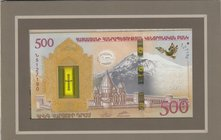 Armenia, 500 Dram, 2017, UNC, FOLDER