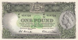Australia, 1 Pound, 1953, AUNC, p30