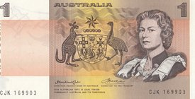 Australia, 1 Dollar, 1974, UNC, p42a