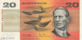 Australia, 20 Dollars, 1979, XF, p46c