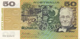 Australia, 50 Dollars, 1983, AUNC, p47d