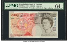 Great Britain Bank of England 50 Pounds 1994 (ND 2006) Pick 388c PMG Choice Uncirculated 64 EPQ.   HID09801242017