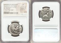 MACEDONIAN KINGDOM. Alexander III the Great (336-323 BC). AR tetradrachm (25mm, 16.87 gm, 7h). NGC XF 5/5 - 4/5, Fine Style. Late lifetime or early po...