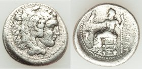 MACEDONIAN KINGDOM. Alexander III the Great (336-323 BC). AR drachm (17mm, 4.08 gm, 11h). Fine. Lifetime issue of Sardes, ca. 334-323 BC. Head of Hera...
